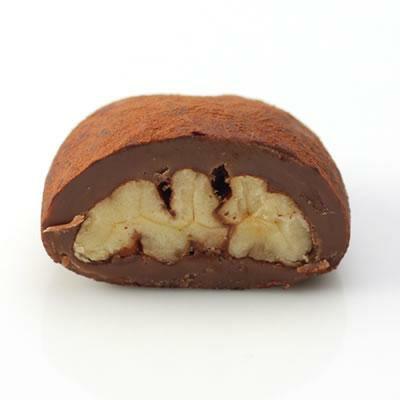 ココアがけピーカンナッツチョコレート