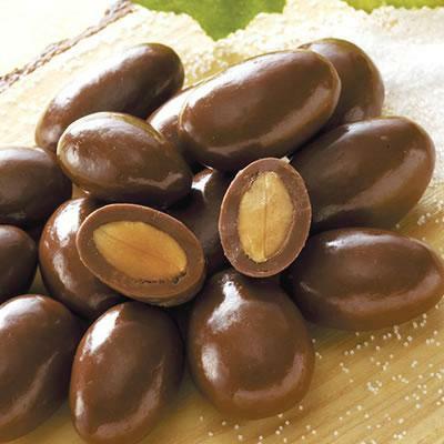 塩アーモンドチョコレート